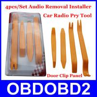 2014 New 4pcs/Set Refit Car Audio Companion Kit Auto Car Radio Trim Dash Audio Removal Installer Tool CNP Free Shipping