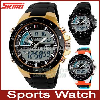 Горячая распродажа мужская одежда женская спортивные часы мужчины мода часы свободного покроя кварцевые часы из светодиодов цифровой водонепроницаемый военные наручные часы человек таблице