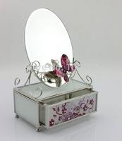 Europe type style piano shape jewelry box for decoration SCJ760