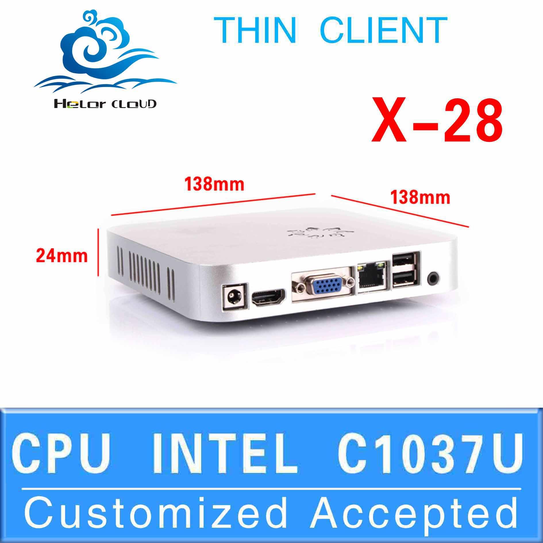 mini pc windows xp mini computer ubuntu mini pc X28 C1037U support full-screen movies and 2D games Factory price!hot selling!!(China (Mainland))