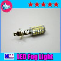 Hot Sale 2pc/lot Car auto led H1H3 H4 H7 H8 H11H16 9005 9006 3528 68smd LED 6000k-Max White Fog Lamp Bulb 12V Parking Headlight