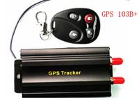 Vehicle Car GPS Tracker 103 B+ with Remote Control GSM Alarm SD Card Slot Anti-theft/car alarm system GPS103B+ TK103