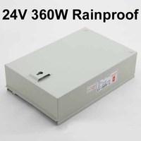 waterproof ip65 12v 30a/24v 15a 360w switching power supply,ac 110v-220v to dc 24v led power supply
