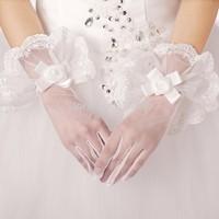2014  THE ANGEL Gloves bridal gloves wedding gloves st51