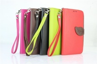 Leaf Flip Phone Case Cover Wallet Magnetic PU Leather TPU Back Case Stand For Samsung Galaxy Note 3 III N9000