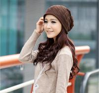 Hot sale gorro women hat fashion black gray winter warm hats for women street salons cap free shipping