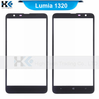 Outer Glass Lens Front LCD Touch Panel For Nokia Lumia 1320 Digitizer Free Shipoing