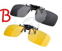 fashion sunglasses clip on Myopia Glasses  eyeware anti UV 400 unisex men women daily night vision option  Wholesale