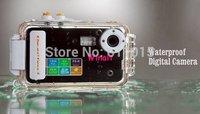 """New 12MP max super slim waterprooof digital camera 2.4"""" screen, 8x Zoom waterproof Digital Camera Z-68"""