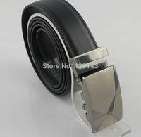 Fashion Formal Men Belt Leather Automatic Buckle Male Belt For Men Waist Strap Design Brand Freeshipping