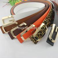 Fashion Gold Color Buckle G Letter Men Belt Leather Smooth Buckle male Belt For men women Jeans Design Brand Freeshipping