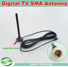 Free Shipping , High Gain Car Digital TV Aerial Mini TV Antenna(China (Mainland))
