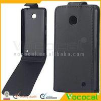 PU Leather Flip Protective Case Cover for Nokia Lumia 630