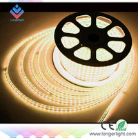 free shipping 50meters a lot Waterproof LED Strip light 5050SMD 60LEDs/m flexible led strip DC 220v