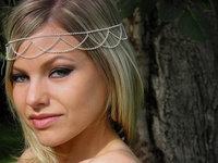 Simple Headband, Headdress, Women's Hair Trendy Fashion, Wedding Bridal Jewelry