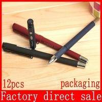Y01 0.5mm office and school stationeries pens for writing gel ink pen shocker parker pen 12pcs/lot wholesale