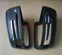 Full Replacement Carbon Fiber Side Mirror Caps for 2008-2013 Mercedes-Benz W204 C-Class C180 C200 C260 C300 C63