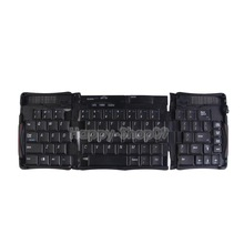 BUH9 Foldable Folding Bluetooth Wireless Keyboard for Tablet Laptop Smartphones
