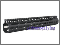 NEW Free Float NSR 13.5 Inch Handguard One-piece Top Rail System KeyMod High Quality Lightest FDE For AR-15 M4 M16