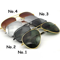 VIP link--DHL free 100pcs/lot fashion Mirror  Aviator Sunglasses Eyeglasses Women & Men wayfarer Mirror Lenses Sunglasses