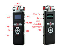 free shipping New  t80 High-definition Digital Voice Recorder Dictaphone with Video Recorder