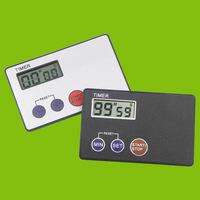 Timer Countdown Pocket Kitchen Study Rest Kitchen Cooking ( Credit Card Size ) 1 PCS