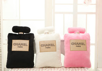 Baby Cushion Toys Perfume bottle shape pillow cushion gift birthday present creative home decorative soft pillow