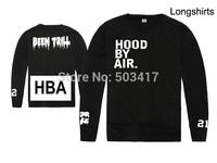 2014 New Limited Moletons Moleton Masculino Sweatshirt Men Popular Men's Hoody Hba Hip Hop Street Sweatshirts Hood By Air Shirt