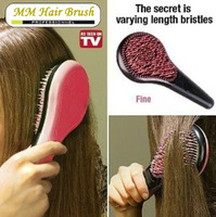 Stock Free Shipping British Queen Brush Detangle Brush Tangle Michel Mercier Hair Brush Massage Comb As Seen On TV HB-04