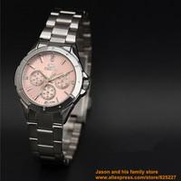 New Luxury Sport Stainless Steel Date Quartz Analog Black Dial Mens Wrist Watch Chenxi ebay pink