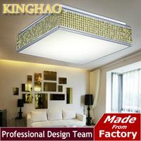 KINGHAO Modern fashion square round Mosaic bedroom lights LED sitting room lights restaurant lighting lamps and lanterns KL001