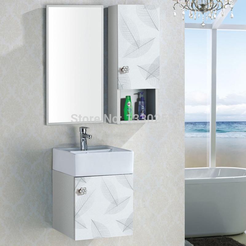 aluminium made bathroom cabinet under basin cabinet with