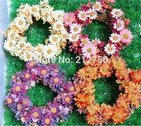 3pcs/lot High artificial silk flower wreath rattan flower garland European style silk flowers decoration