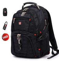 Original Swisswin  Multifunctional  backpack 15.6 inch laptop bag   8112 Free shipping