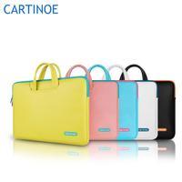 Pop fashion laptop briefcase sleeve case 11 13 15 inch computer bag notebook handbag
