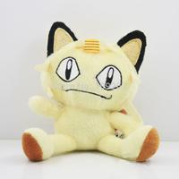 "Japanese Anime Cartoon Pokemon Meowth Plush Toy 5""12CM Pocket Monster Stuffed Animals Plush Doll"
