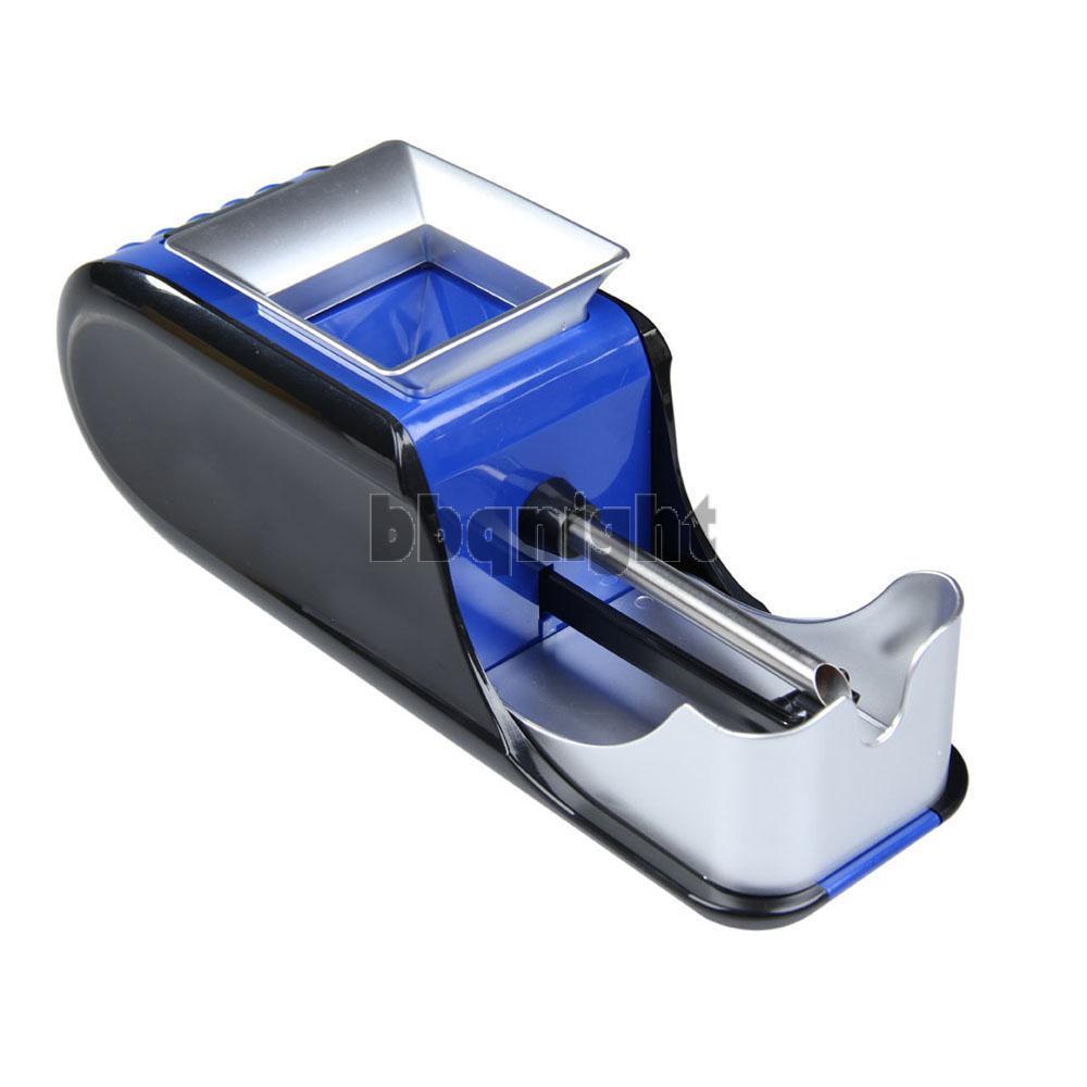 Electric Cigaret Rolling Injector Tobacco Roller Maker Machine Blue AC230V INGT(China (Mainland))