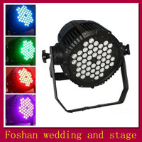 Reallink RGB DMX 512 Stage Lights Business Lights Led Flat Par High Power Light with Professional for Party KTV Disco DJ
