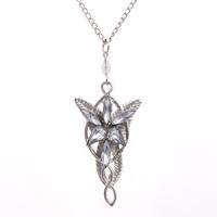 Lord Of The  Demon Princess Dusk Star Necklace Pale Twilight Star/Ms Man Necklace Pendant 24pcs/lot