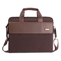 New leisure style Men's briefcase canvas shoulder bag messenger bag business bag cross style men's oxford bag