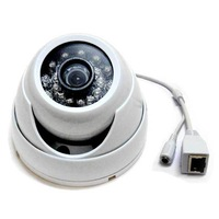 CCTV 1.0MP 1280X720P HD H.264 P2P 24 IR LEDs Outdoor Security IP network Camera Onvif