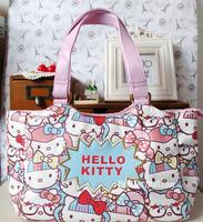 2014 high quality fashion Korea women totes hello kitty handbags girls shoulder bags