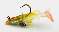 2014 new Jig Head Lure Soft Fishing Lure soft bait 6CM 4G shad soft plastic fishing lure custom soft baits saltwater soft baits