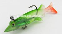 2014 soft fishing lure wholesale plastic fishing 12CM 26G HENGJIA soft plastic fishing lures lead head soft body fishing lure
