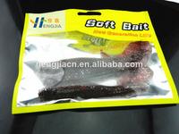 2014 Artificial fish 11.5CM 9G soft plastic fishing lure Fishing Tackle Shad Swim Minnow SwimBait soft plastic worm bait