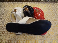 New 2014 women flip flops fashion style brand sandals casual Patent leather summer shoes