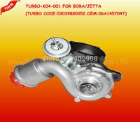 K04-001 Turbo K03 Upgrade Trabocharge For  Audi A3 A4 VW Golf Bora Seat Leon Skoda 1.8T