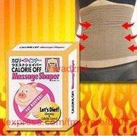 free shipping 1pc women waist cincher corset body shaper size M L black and beige
