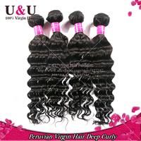 6A grade peruvian virgin hair peruvian deep wave rosa hair products unprocessed virgin peruvian hair extension human hair weave