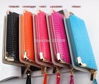 Fashion PU leather women long design wallet Purse wallet women day clutch women's lady handbag zipper bag WLP-891-2